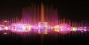 洛阳新区音乐喷泉