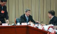 """青海代表团举行会议审议""""两高?#21271;?#21578;"""