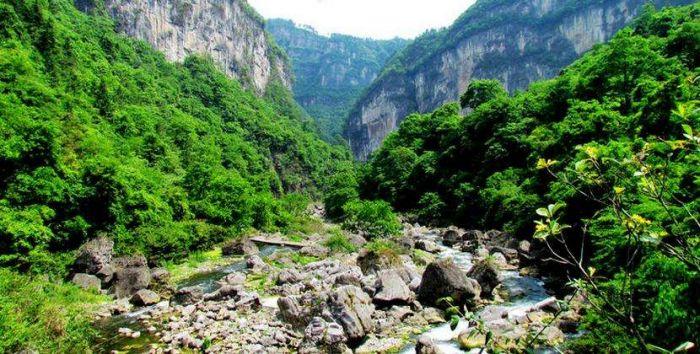 南江大峡谷风光