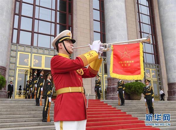 国事访问欢迎仪式