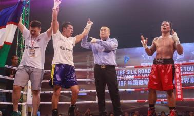 2018 IBF Silk Road Championship Tournament held in Hua Hin, Thailand