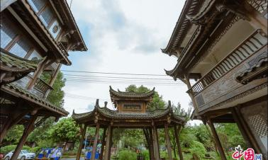 Pingle Ancient Town in China's Sichuan