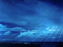 美国试射和平卫士洲际弹道导弹的重返弹头