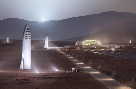 """5年左右首飞 """"星际飞船""""锁定火星候选登陆点"""
