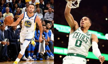 NBA season opener: Celtics, Warriors both victorious