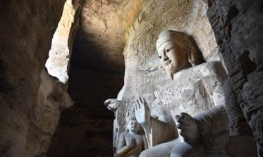 World heritage grotto printed with 3D tech