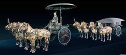 青铜之冠——秦陵铜车马