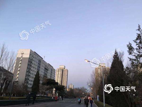 本周北京无大风降温 天气回暖明天最高温8℃