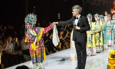 Fashion meets Peking Opera in Beijing