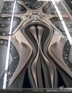 北京新机场设计图