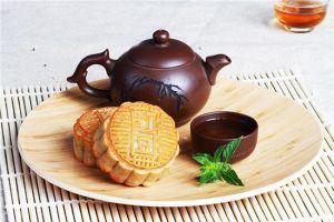 广式月饼与茶
