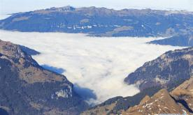 Jungfrau Region, famous tourist destination in Switzerland