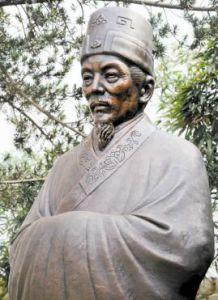 汤显祖铜像