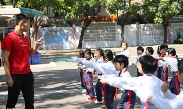 Tianjin says 'no' to school bullying