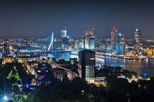 鹿特丹璀璨夜景