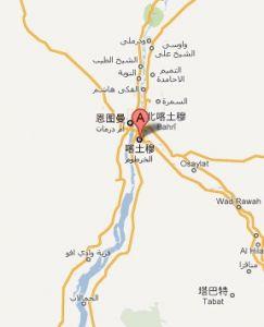 喀土穆城市分布图