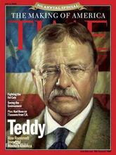 时代周刊封面上的西奥多·罗斯福