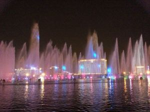 洛阳音乐喷泉美景