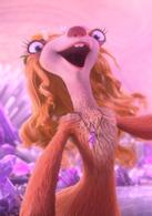 女树懒、布鲁克  演员 Jessie J  漂亮布鲁克,她喜欢展现了自己的魅力,美丽,有磁性的嗓音,还非常勇敢和有正义感,她会帮助冰川萌物们一起拯救彗星撞地球的灭顶之灾。
