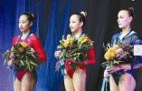2019年体操世界杯墨尔本站 天台美少女范忆琳高低杠夺冠