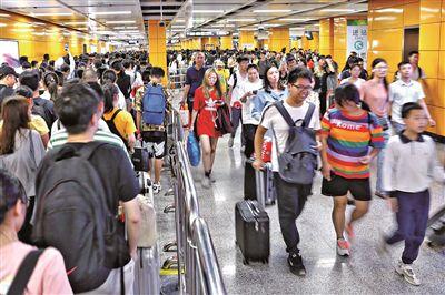 广州地铁运客量全国第一