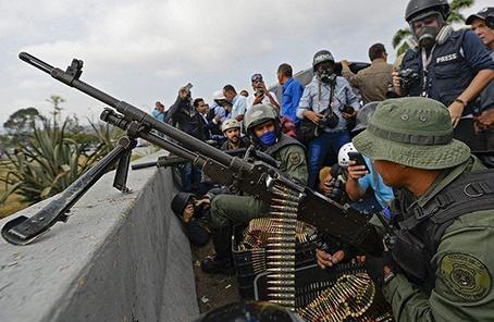 委内瑞拉代表:外国势力在委煽动内战的图谋宣告失败