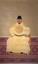 推翻元朝,建立明朝的明太祖高皇帝朱元璋。