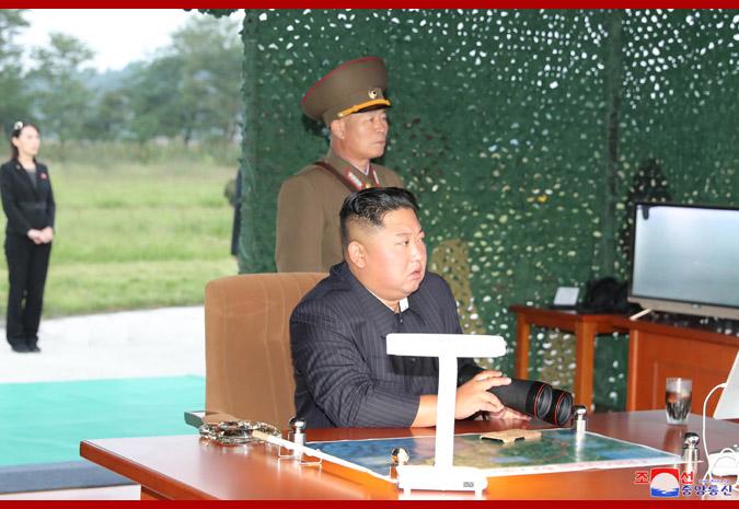 特朗普提及对朝鲜动武可能性 朝方:动武不是美特权