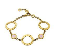 黄金珍珠母贝手链