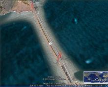 金门大桥卫星图像