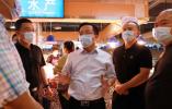 鹿城区委书记姜景峰督查全国文明城市百日攻坚专项行动开展情况