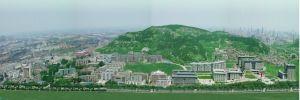 济南大学鸟瞰图