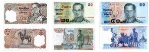 泰铢纪念钞