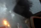 杭州古墩路一汽车4S店起火 现场浓烟滚滚