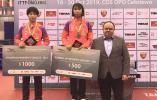 盐城15岁小丫蒯曼在国际乒联波兰挑战赛U21组别中勇夺女单冠军