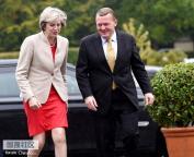 英国首相特蕾莎·梅访问丹麦