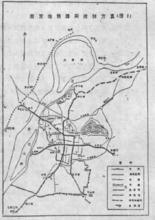 南京地铁早期规划图(1991年)