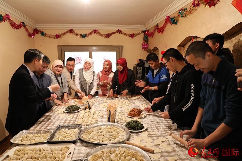 埃及中国学联举办迎新春活动
