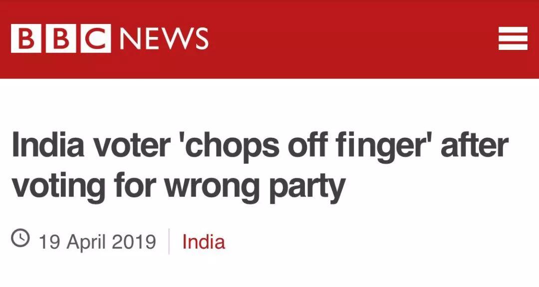 印度大选骇人一幕发生了!
