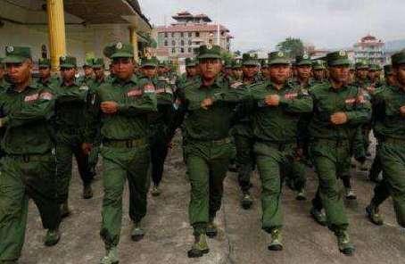 缅甸军方说政府已将若开军定为恐怖组织