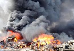 叙利亚首都汽车爆炸袭击致1死1伤