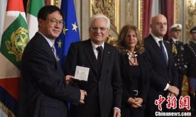 Foreign CAS academician wins int'l award for energy research