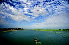 石臼湖景色