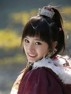杨幂在《神雕侠侣》中饰演郭襄