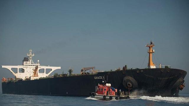 直布罗陀决定释放装载伊朗原油的油轮