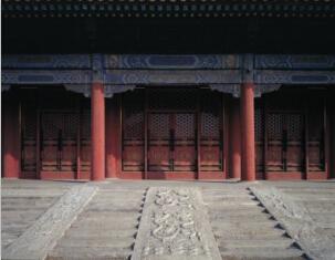 箭亭门前的汉白玉台阶
