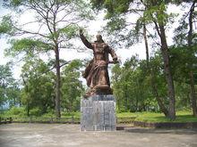 洪秀全雕像