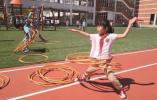 """南外仙林分校体育节 孩子们挑战""""校园吉尼斯"""""""