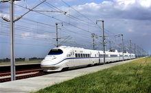 京津城际铁路试验列车